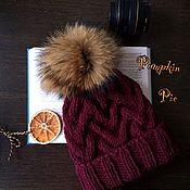 Аксессуары handmade. Livemaster - original item Hat Italian Merino