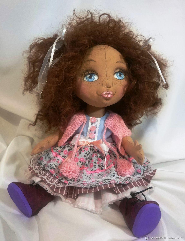 Suzanne. Textile doll. Handmade doll, Interior doll, Minsk,  Фото №1