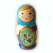 Русский стиль handmade. Livemaster - original item Matryoshka with plot 1. Handmade.