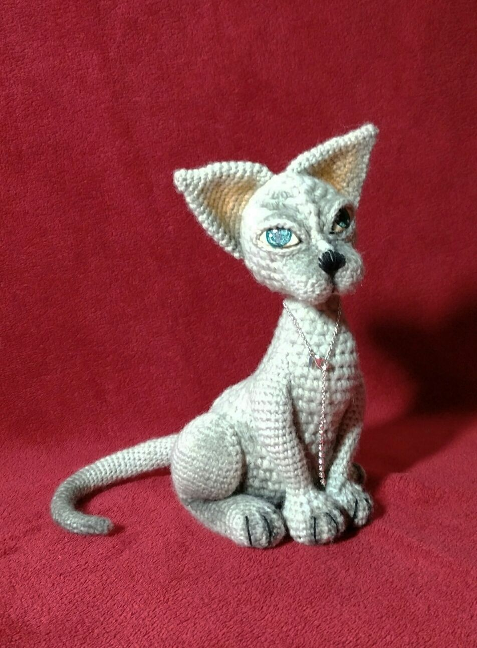 Кот сфинкс, Мягкие игрушки, Винница,  Фото №1