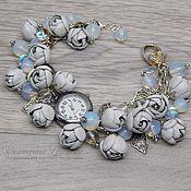 Украшения handmade. Livemaster - original item Women`s wrist watch. Bracelet watch. Watch quartz. Handmade.