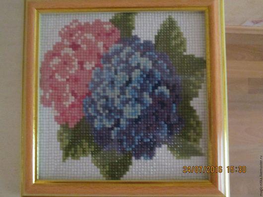 Картины цветов ручной работы. Ярмарка Мастеров - ручная работа. Купить Цветы. Handmade. Алмазная мозаика, алмазная вышивка, цветы