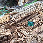 Украшения ручной работы. Ярмарка Мастеров - ручная работа Турмалин сине-зеленый. Handmade.