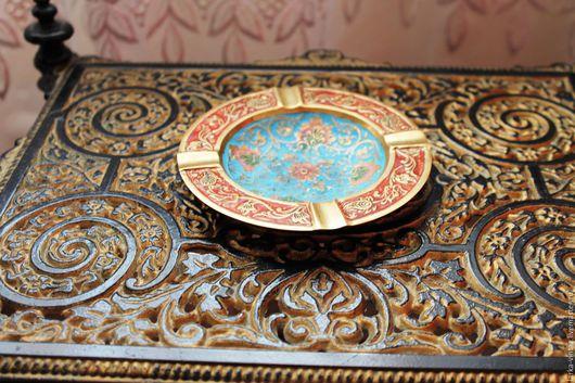 тарелка из латуни Индия купить, предметы из латуни
