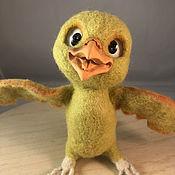 handmade. Livemaster - original item felt toy: Nico the Bird. Handmade.
