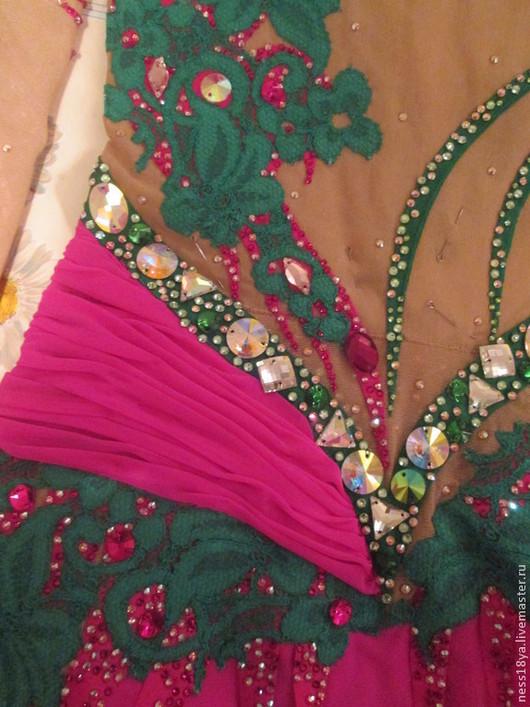 Танцевальные костюмы ручной работы. Ярмарка Мастеров - ручная работа. Купить Купальник для художественной гимнастики, танцевальный купальник, худож. Handmade.
