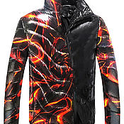 Мужская одежда handmade. Livemaster - original item Men`s jacket demi-season 0104. Handmade.