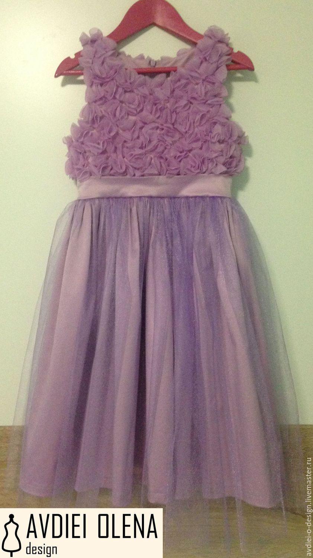 3dd1e7dea1d2132 ручной работы. Ярмарка Мастеров - ручная работа. Купить Нарядное детское  платье, вечернее платье ...