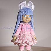 Куклы и игрушки ручной работы. Ярмарка Мастеров - ручная работа Мальвина. Деревянная кукла.. Handmade.