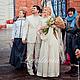 Одежда и аксессуары ручной работы. Свадебное платье в русско-народном стиле. Инна Евстратова. Интернет-магазин Ярмарка Мастеров.