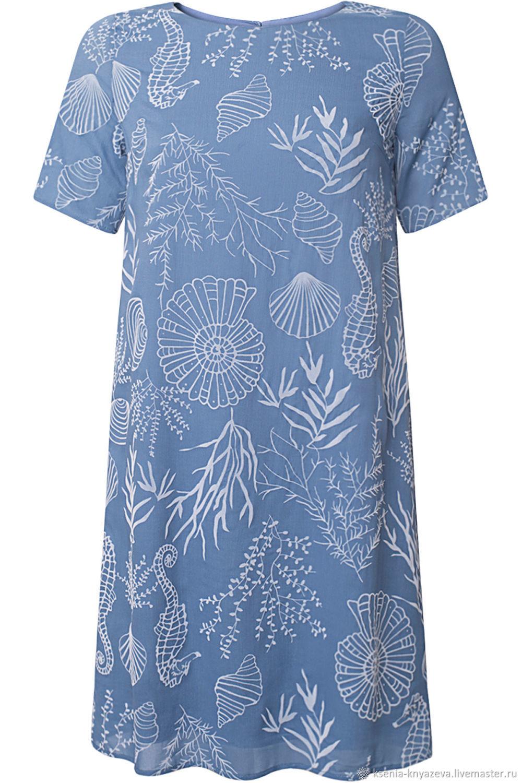 af8e9473e688 Livemaster - handmade. Buy Dress in viscose flock