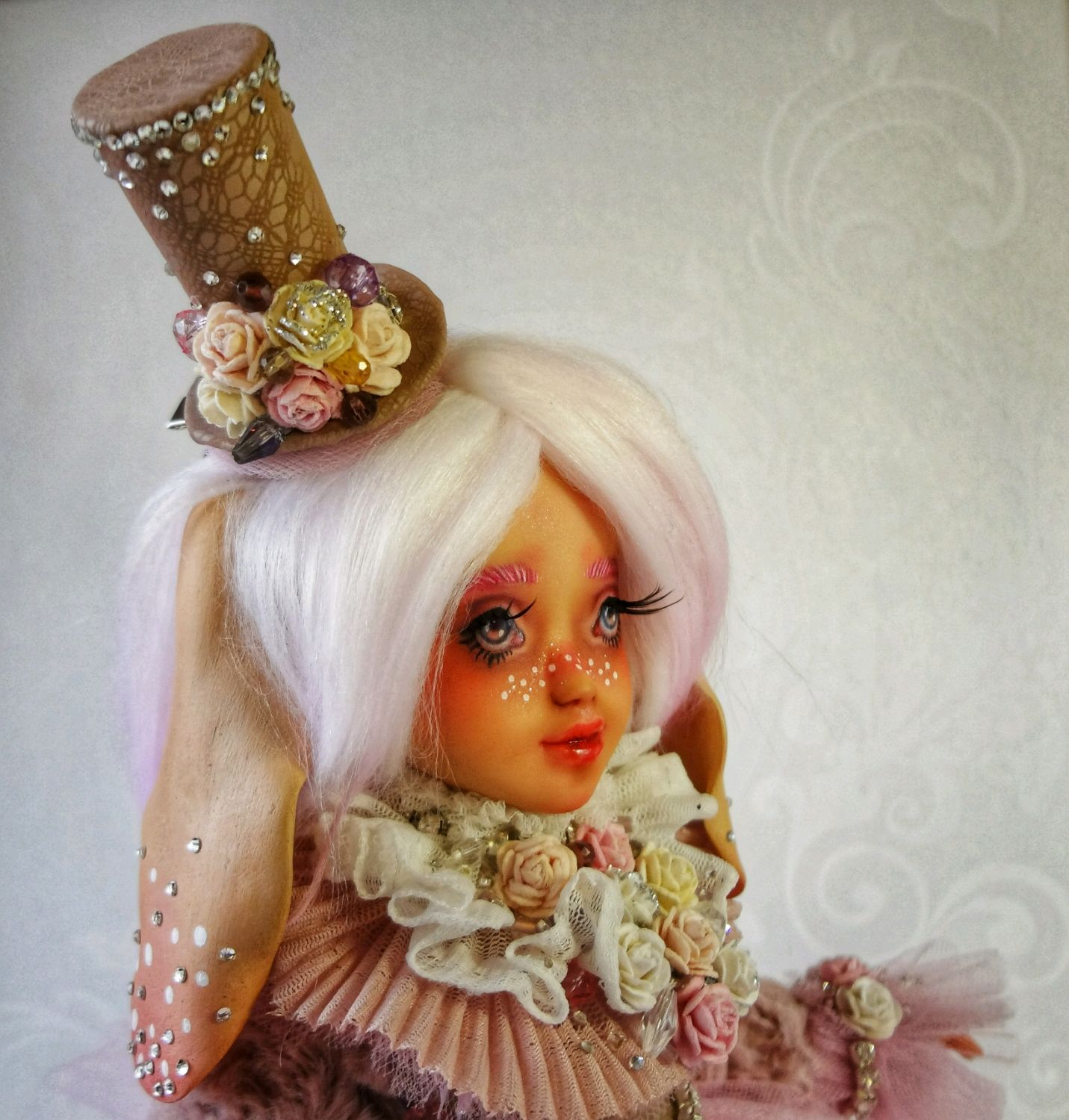 OOAK. Marshmallow. Copyright jointed doll, Ball-jointed doll, Komsomolsk-on-Amur,  Фото №1