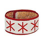 Русский стиль handmade. Livemaster - original item Bracelet from nettles Alive.. Handmade.