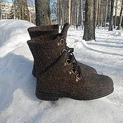 Обувь ручной работы. Ярмарка Мастеров - ручная работа Мужские ботинки. Handmade.