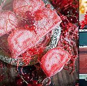 """Косметика ручной работы. Ярмарка Мастеров - ручная работа Сахарный скраб """"Сочная клубника"""". Handmade."""