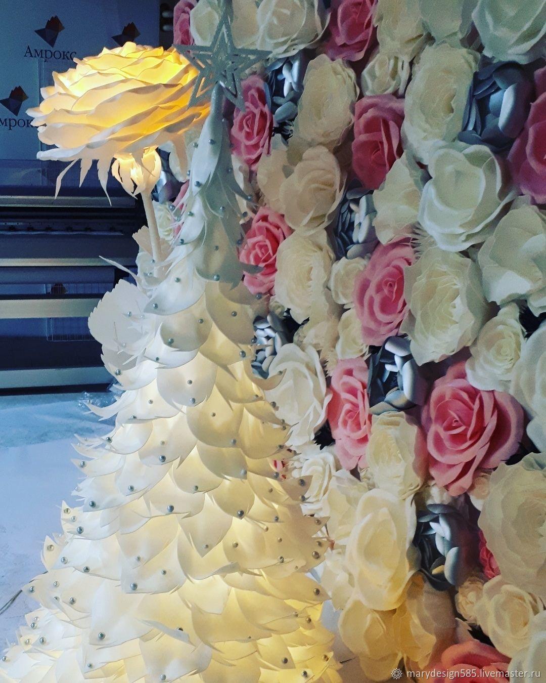 Фотозона, Свадебные цветы, Москва, Фото №1
