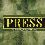 Материалы для творчества handmade. Livemaster - original item patch PRESS (back). Handmade.