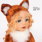 Куклы и игрушки ручной работы. Ярмарка Мастеров - ручная работа Лиса Алиска. Handmade.
