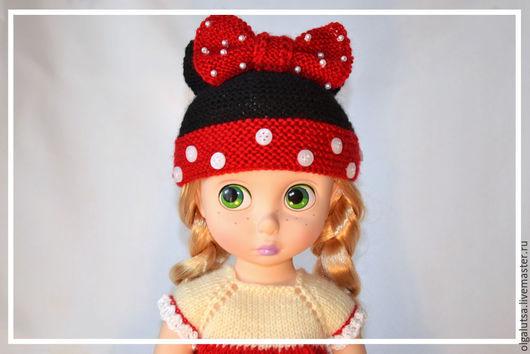 """Одежда для кукол ручной работы. Ярмарка Мастеров - ручная работа. Купить комплект """"Мини Маус"""". Handmade. Одежда для кукол"""