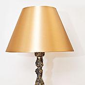 Настольные лампы ручной работы. Ярмарка Мастеров - ручная работа Лампа настольная бронзовая. Handmade.