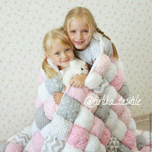 Пледы и одеяла ручной работы. Ярмарка Мастеров - ручная работа. Купить Бомбон одеяло. Handmade. Комбинированный, одеяло детское, хлопок