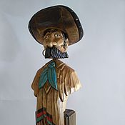 "Для дома и интерьера handmade. Livemaster - original item ""Charro"" - a figure for decorating your houses interior.. Handmade."