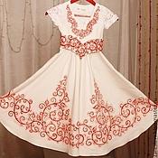 Работы для детей, ручной работы. Ярмарка Мастеров - ручная работа Детское платье для венчания мамы. Handmade.
