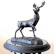 Винтаж handmade. Livemaster - original item Copy of Cabinet Sculpture Cast iron Large Deer Kasli Kusa USSR. Handmade.