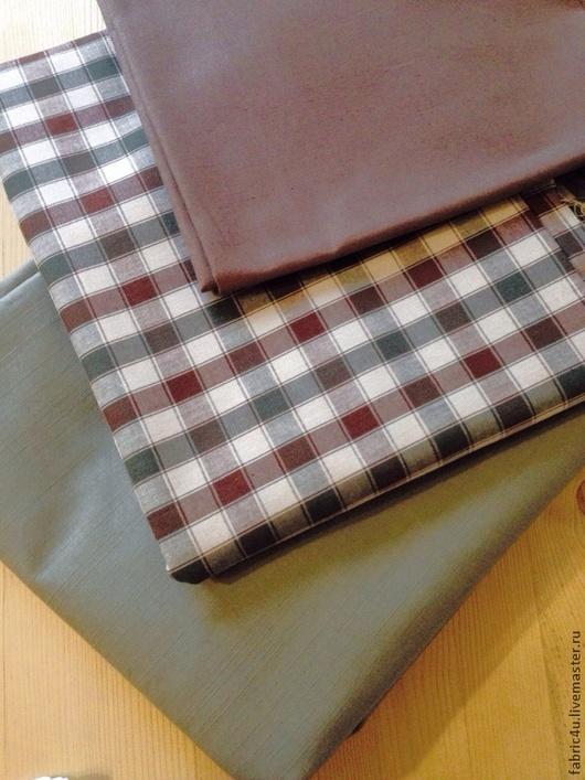 Шитье ручной работы. Ярмарка Мастеров - ручная работа. Купить Набор тканей хлопок и лен. 3 отреза. Handmade. лен