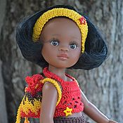 Куклы и игрушки handmade. Livemaster - original item Set of clothes for Paola Reina doll