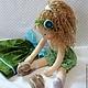 Вальдорфская игрушка ручной работы. Апрелька, 39 см. svetlana. Ярмарка Мастеров. Игровая кукла, кукла текстильная, игрушка для ребенка