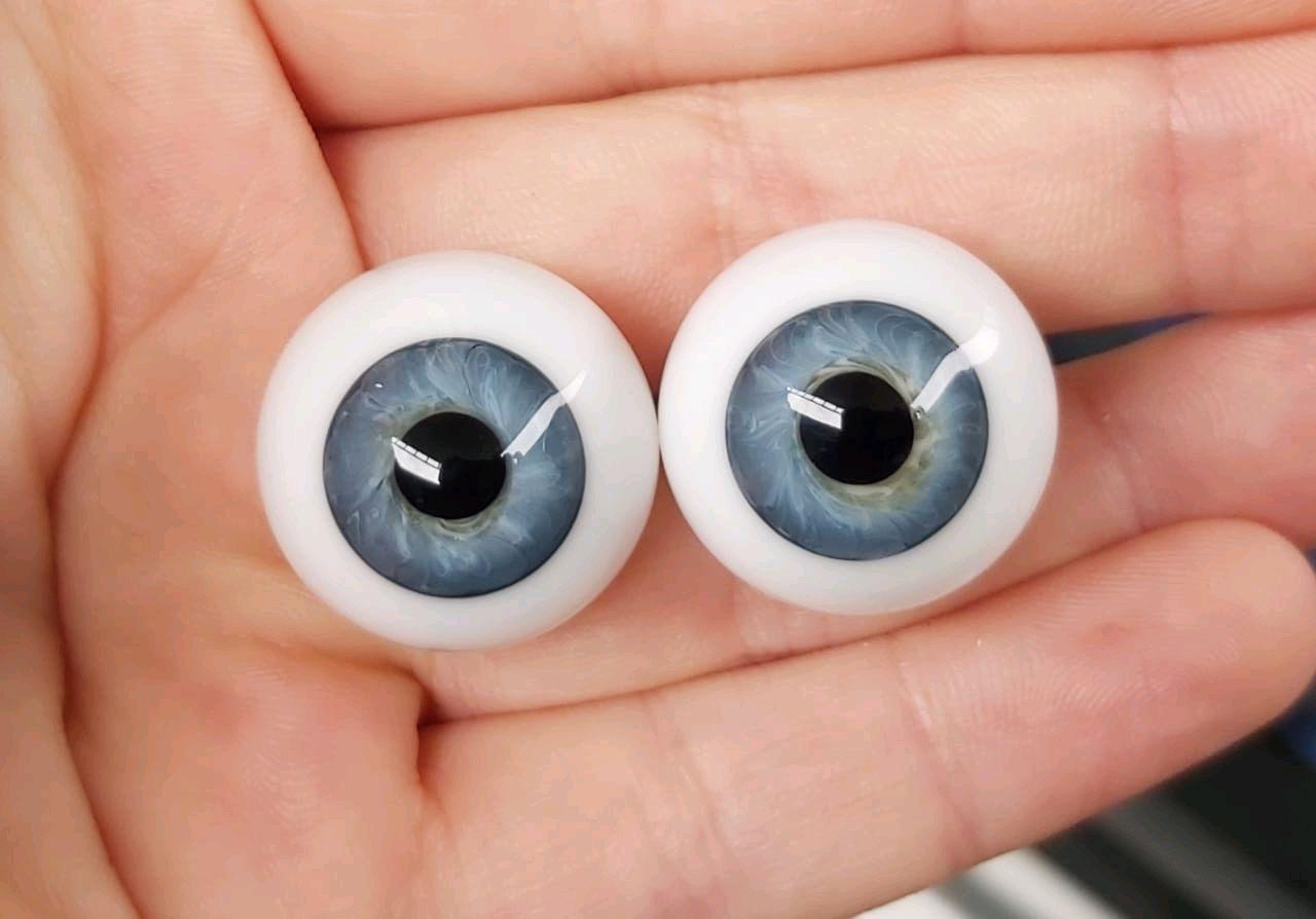 22 мм.#922  Глаза для кукол (стекло) Сфера, Аксессуары для кукол и игрушек, Минеральные Воды,  Фото №1