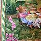 """Пледы и одеяла ручной работы. Детское лоскутное одеяло """"Летнее чаепитие 2"""". Котерева Людмила (Ludmila Quilt). Ярмарка Мастеров."""
