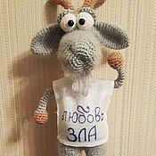 Куклы и игрушки handmade. Livemaster - original item Love is evil.... Handmade.