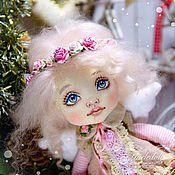 Куклы и игрушки ручной работы. Ярмарка Мастеров - ручная работа Ангел Рождества Энджи. Текстильная кукла. Handmade.