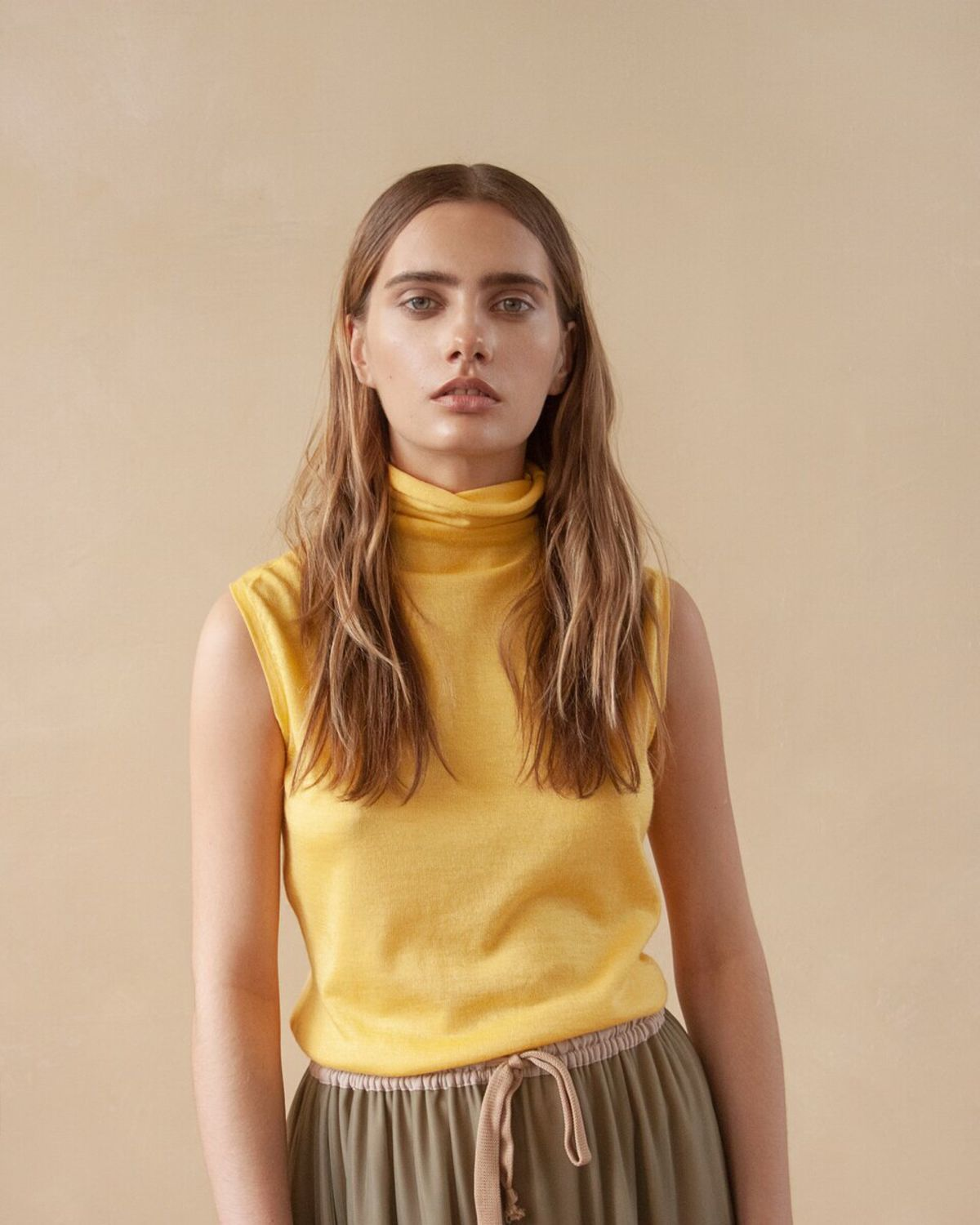 Cashmere t-shirt Sunny, Tanks, Moscow,  Фото №1