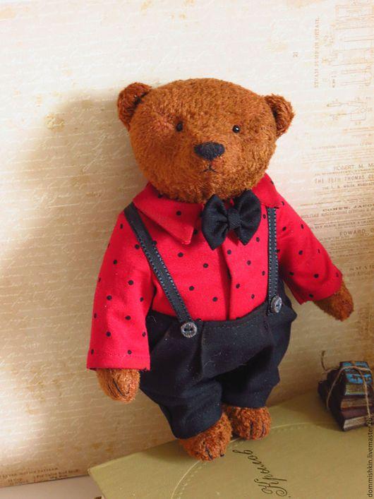 Мишки Тедди ручной работы. Ярмарка Мастеров - ручная работа. Купить Тихон. Handmade. Коричневый, мишка ручной работы