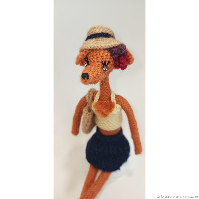 Лиса летняя, Интерьерная кукла, Санкт-Петербург,  Фото №1