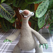 Куклы и игрушки ручной работы. Ярмарка Мастеров - ручная работа Сид из Ледникового периода (войлок). Handmade.