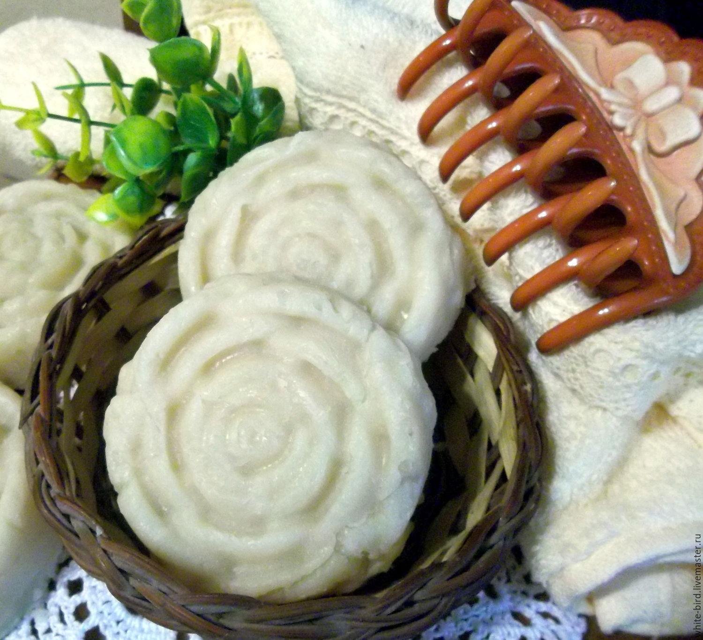Мыло-шампунь ручной работы. Ярмарка Мастеров - ручная работа. Купить Натуральное мыло-шампунь с серой  для жирных и нормальных волос. Handmade.