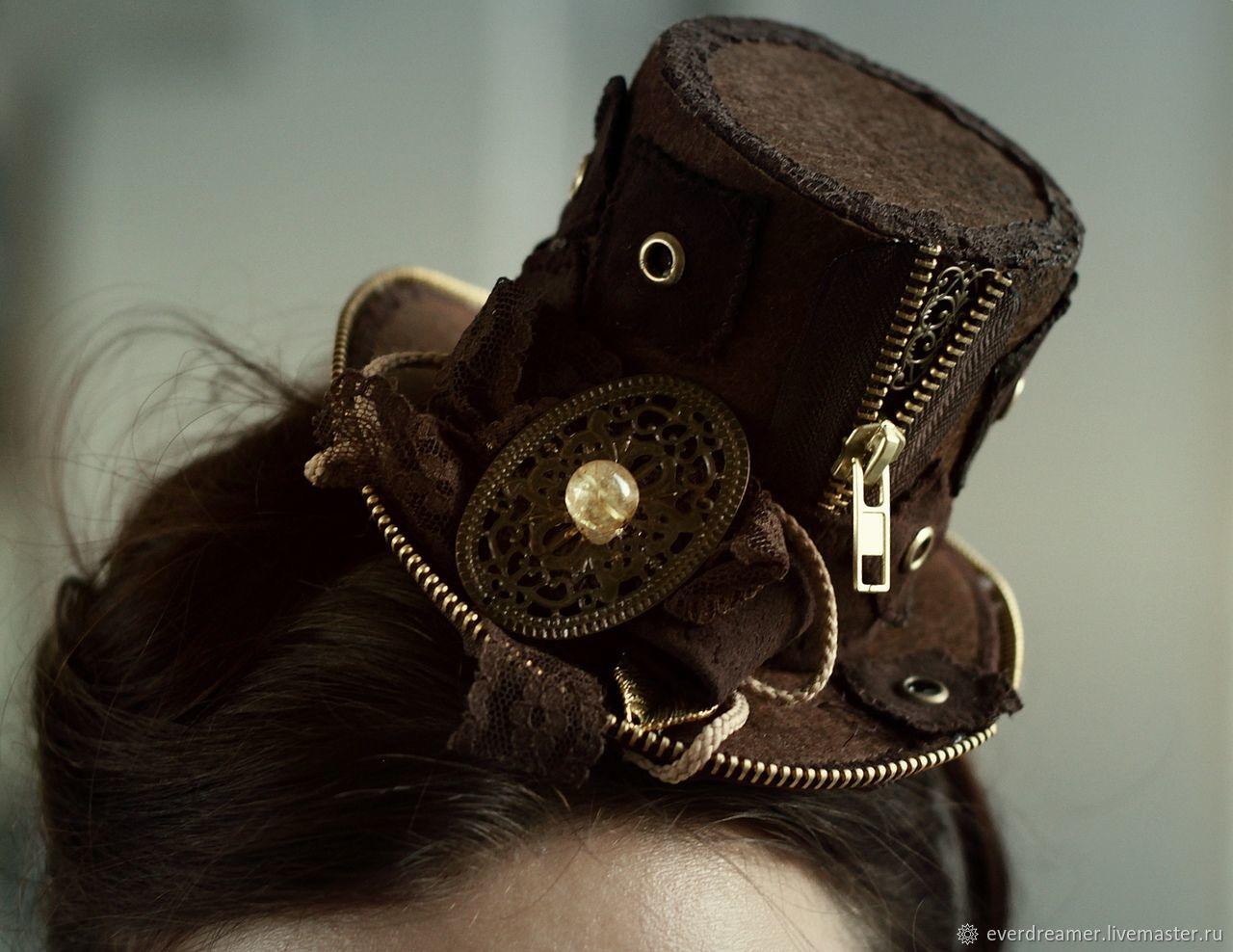 Шляпка Стимпанк :, Аксессуары, Екатеринбург, Фото №1