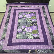 Для дома и интерьера ручной работы. Ярмарка Мастеров - ручная работа Лоскутное одеяло, пэчворк , лоскутное шитье , квилт. Handmade.