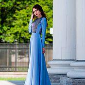 Одежда ручной работы. Ярмарка Мастеров - ручная работа Платье летнее, платье длинное в пол, нарядное платье. Handmade.