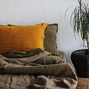Для дома и интерьера handmade. Livemaster - original item Linen bed linen-Luxury linen linen. Handmade.