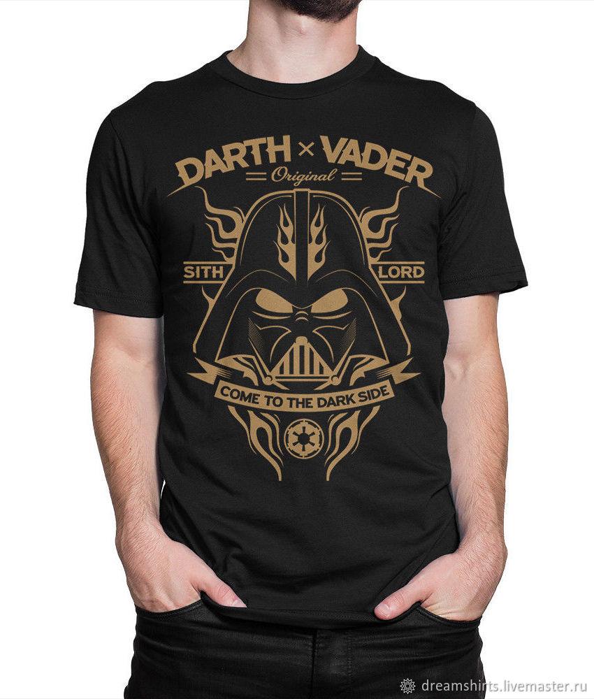 "Футболка с принтом ""Darth Vader Sith Lord"", T-shirts, Moscow,  Фото №1"
