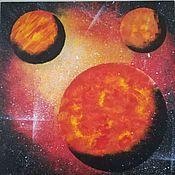 Картины ручной работы. Ярмарка Мастеров - ручная работа Картины: Космос. Handmade.
