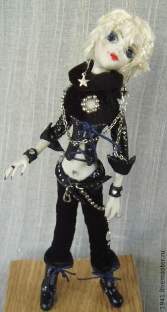 Коллекционные куклы ручной работы. Ярмарка Мастеров - ручная работа. Купить Гламур. Handmade. Черный, сувениры и подарки, интерьерная игрушка