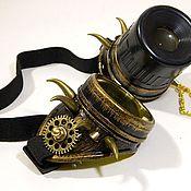 "Субкультуры handmade. Livemaster - original item INFORMAL Goggle Eyewear ""WELDER-49"" Steampunк. Handmade."
