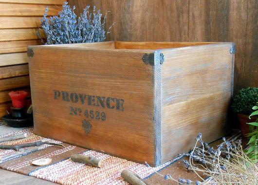 Большой деревянный короб для хранения. Короб из массива сибирского кедра. `LedaksDecor` -для утного дома!