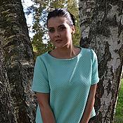 Одежда ручной работы. Ярмарка Мастеров - ручная работа Блузка мятная. Handmade.